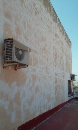 Pintura de fachada lateral