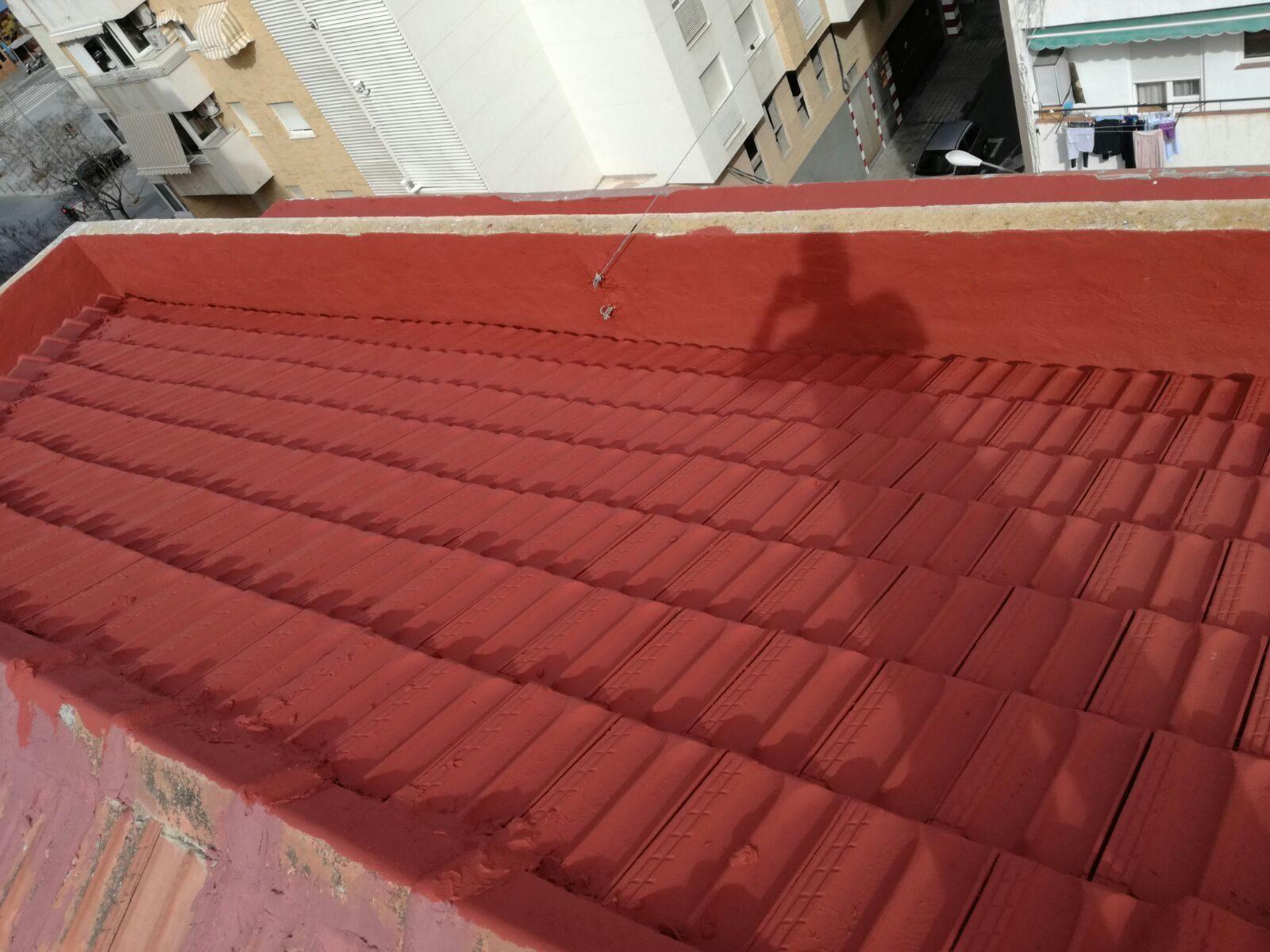Impermeabilización de tejado
