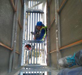 Reparación de chapa en monolito