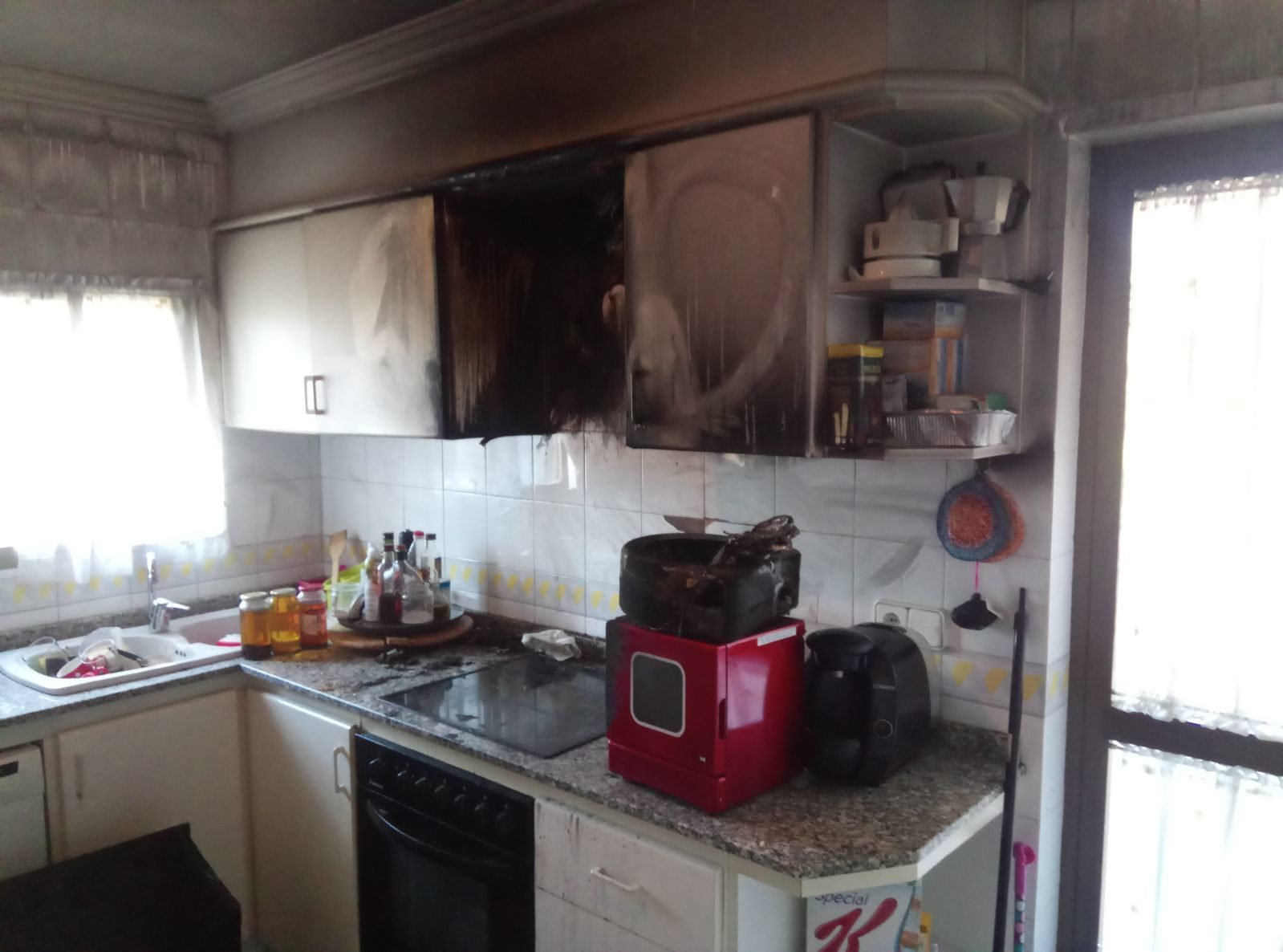 Reforma de cocina tras incendio